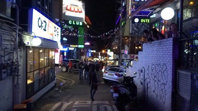 hooker hill korea red light district