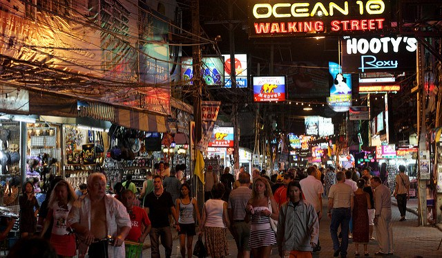 red light capital of the world walking street pattaya