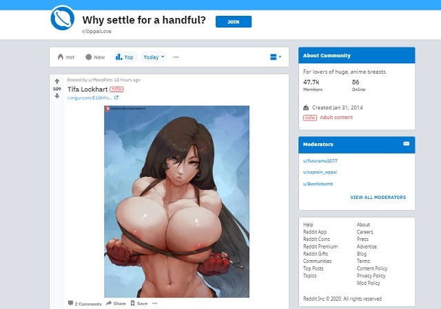 best hentai reddit boards oppailove