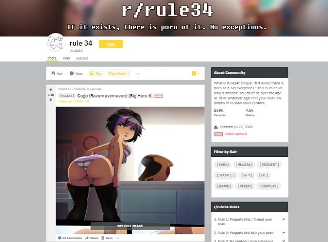best hentai reddit boards rule 34